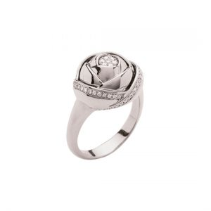 Anillo con Diamantes Rose