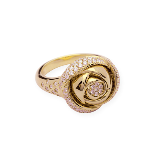 Anillo Rose Oro Amarillo