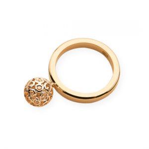 Anillo Spheres Oro Amarillo