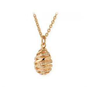 Colgante Oro Amarillo con Diamantes (Espiral)