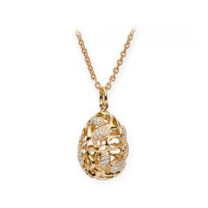 Colgante Oro Amarillo con Diamantes (Cashmere)
