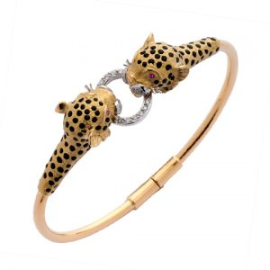 Pulsera Oro Amarillo Leopards