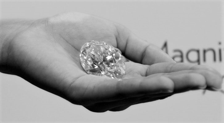 diamante de 100 quilates