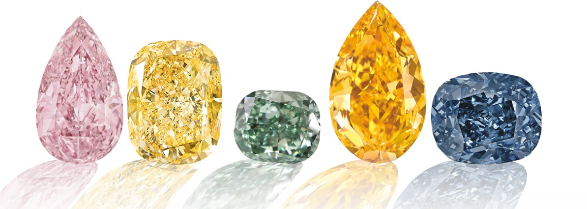 diamantes de colores