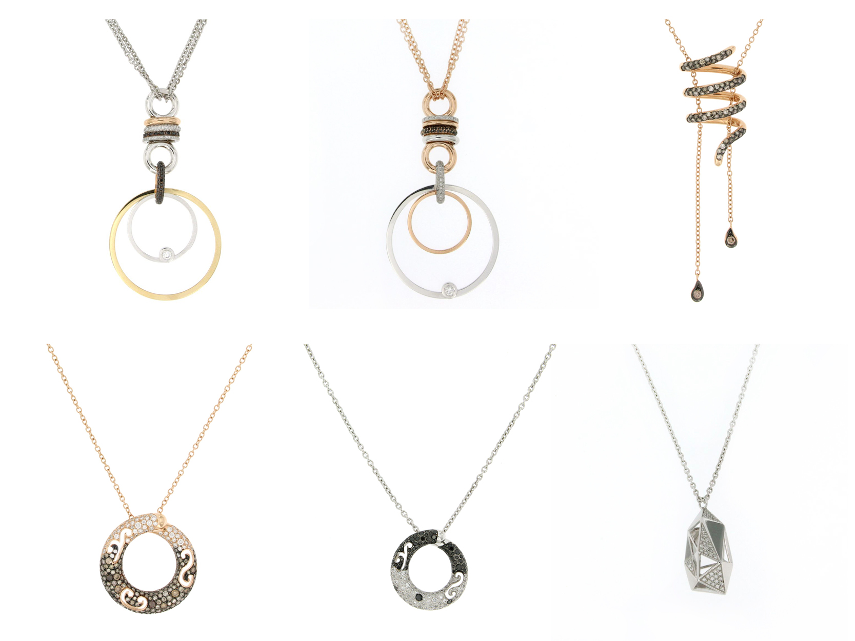 necklaces with a modern design