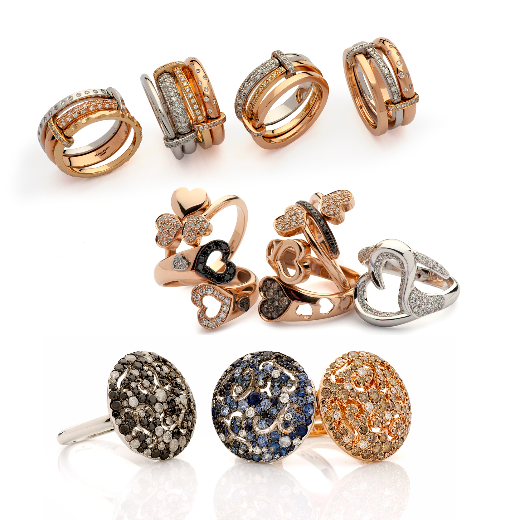 Rings with an innovative design